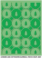 Cuttlebug Embossing Folder - Winter Trees
