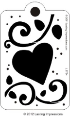 Heart Flourish Tag