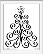 Curly Christmas Tree
