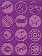 Cuttlebug Embossing Folder - Boo To You