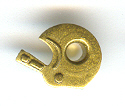 "Football Helmet 1/8"" Eyelets - Brass"