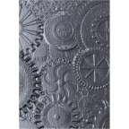 Sizzix 3D Texture Fades Embossing Folder By Tim Holtz - Mechanics
