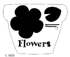 Flower pot and flower pieces
