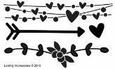 Heart & Flower Border