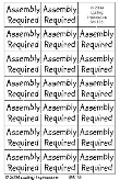 Senti-Metals Assembly Required - Stainless Steel
