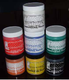 Embossing Paste - 7 Color Combo