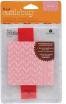 Cuttlebug Embossing Folder/Border Set - Charles (Chevron)