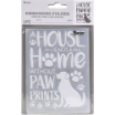 Darice A2 Embossing Folder - Dog House Home