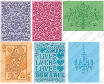 Cuttlebug Embossing Folders Set of 6 - Love's In The Air
