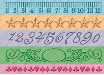 "Cuttlebug 7"" Embossing Borders (5) - Measure By Measure"