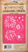 Fireworks Embossing Folder