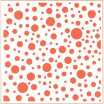 "Marianne Design Embossing Folder 5""X5""- Dutch Dots"