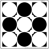 Black and White Circles