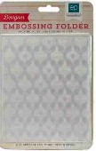 "Echo Park Embossing Folder 5""X5.875""- Holiday Ornaments"