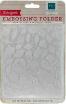 "Echo Park Embossing Folder 5""X5.875""- Falling Leaves"