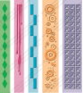 Cuttlebug Embossing Folder Borders (5) - Pop Culture